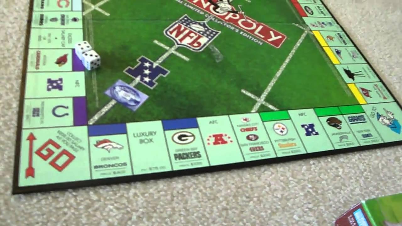 83715891b257 Monopoly NFL Happy 75th Birthday - YouTube