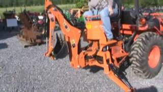 Agri Machinery 3 Point Hitch Backhoe Attachment For Tractor For Sale