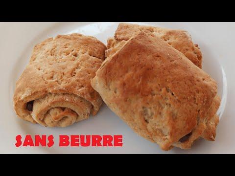 croissants-et-pains-au-chocolat-feuilletés-sans-beurre- -cuisinevans