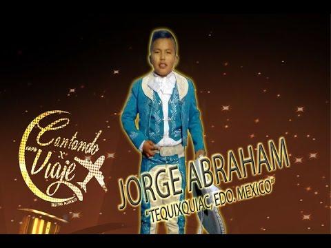JORGE ABRAHAM   CANTANDO POR UN VIAJE...