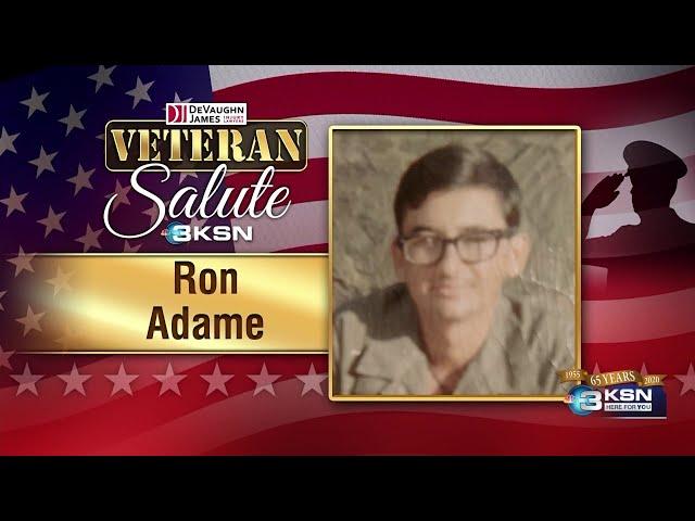 Veteran Salute: Ron Adame