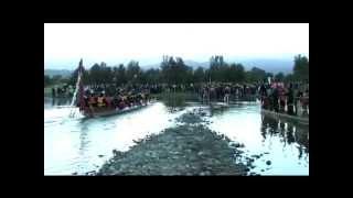 Waka ceremony 100 year centenary Levin