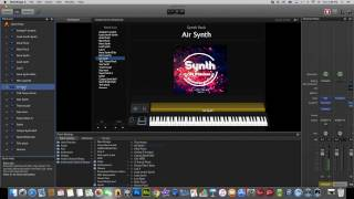 Synth for Mainstage and Logic Pro X