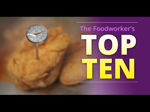 """Basic Food Safety: Chapter 6 """"The Foodworker's Top 10"""" (English)"""