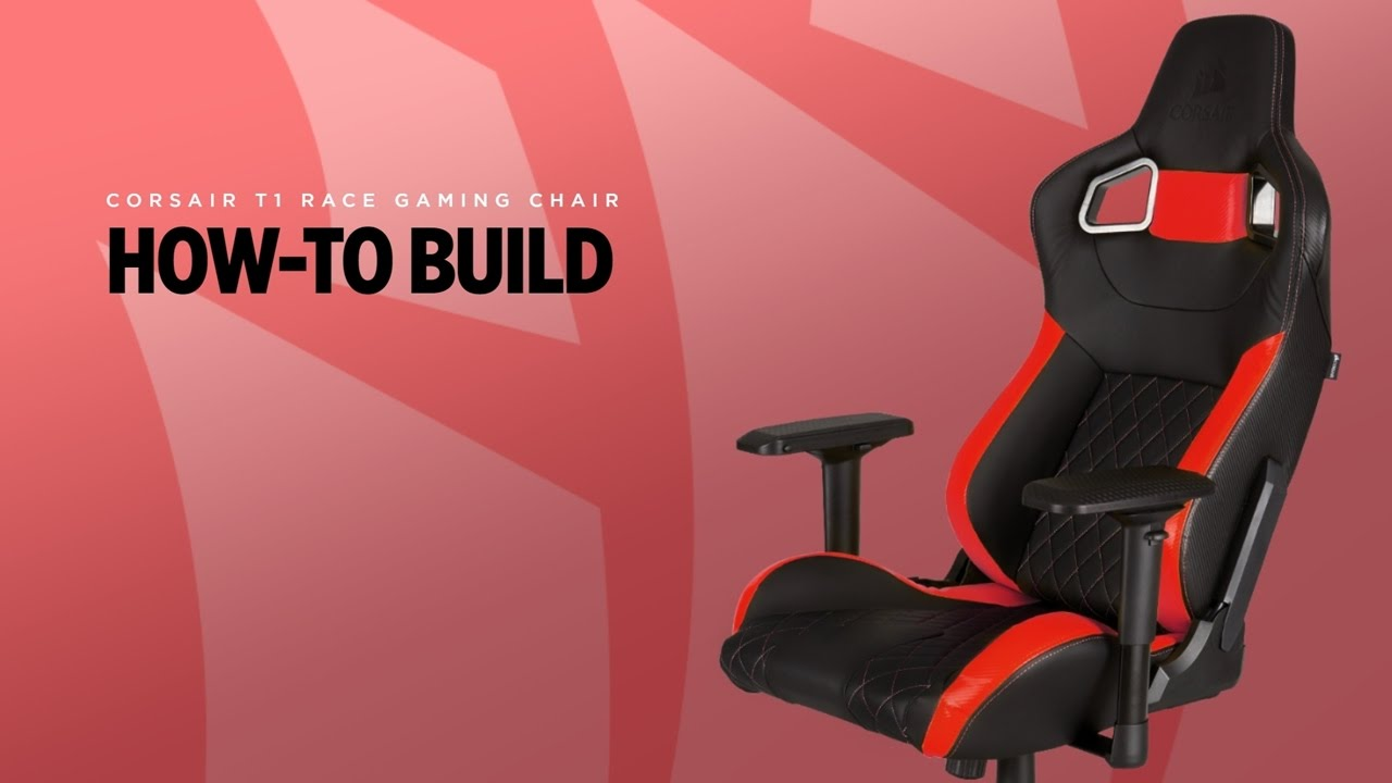 T1 RACE GAMING CHAIR  How To Build  YouTube