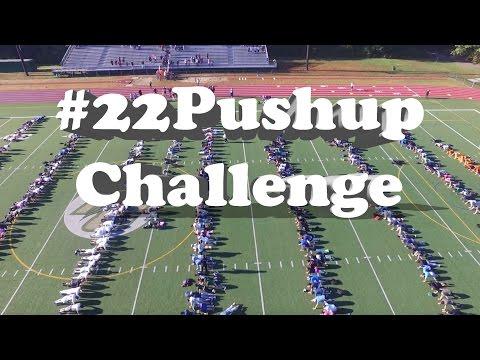Bishop Hendricken High School #22PushupChallenge