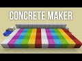 How to Build an Automatic Concrete Maker in Minecraft