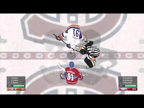 NHL 2015 . Mon 1ER jeu de hockey .