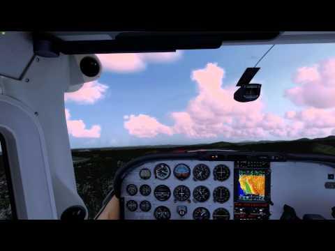 Prepar3D v2.5 - Orbx KBLU to KRDD - A2A C182 - Flight1 GTN 750