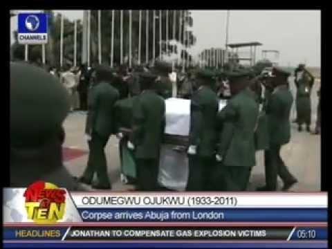 Jonathan, Army Chief, others pay tribute to Ojukwu