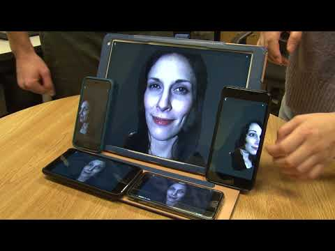 Holostream: Real Time 3D Streaming On Your Cell Phone