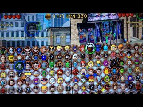 Свободная игра в Лего Марвел Super Heroes