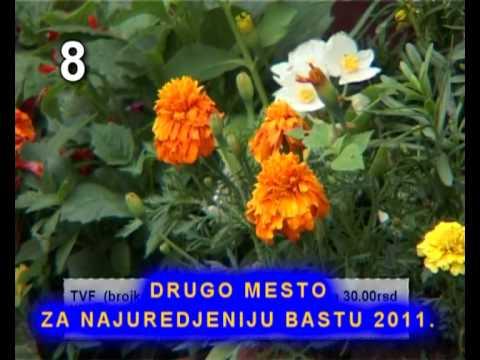 Nafija Krijestorac - drugo mesto za najuredjeniju bastu 2011. - YouTube