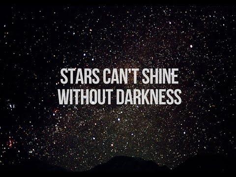 Afbeeldingsresultaat voor stars can't shine without darkness