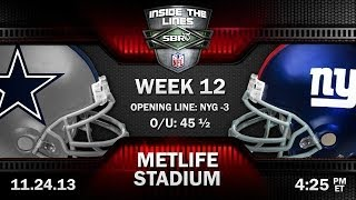 Dallas Cowboys vs New York Giants NFL Week 12 Preview | 2013 NFL Picks with Troy West, Peter Loshak