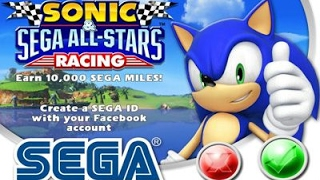 Sonic SEGA All Stars Racing - Nintendo Wii Racing Games - Videos Games for Kids - Girls