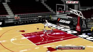 NBA 2k9 (PC) Game Play - Michael Jordan