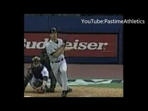 Cal Ripken Jr. Hitting Slow Motion Home Run - Iron Man Baseball Swing Orioles HOF MLB