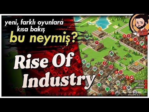 RISE of INDUSTRY (Early Access) - BU NEYMİŞ? - Portakal Baronu Olma Simülasyonu!