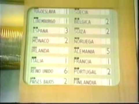 Eurovision 1969 - Voting Part 1/3