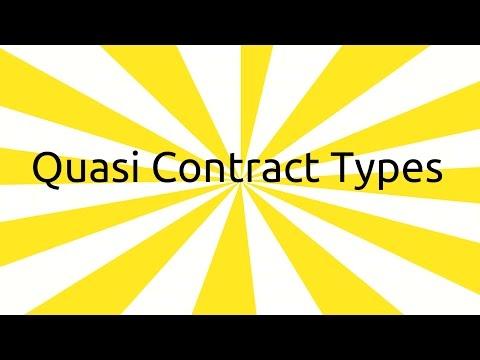 Types of Quasi Contract | Contingent & Quasi Contract | CA CPT | CS & CMA Foundation | BCom Hons