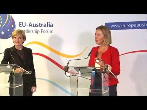Launch of the EU/Australia leadership forum