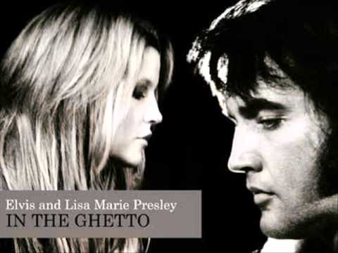 Lisa Marie & Elvis Presley - In The Ghetto