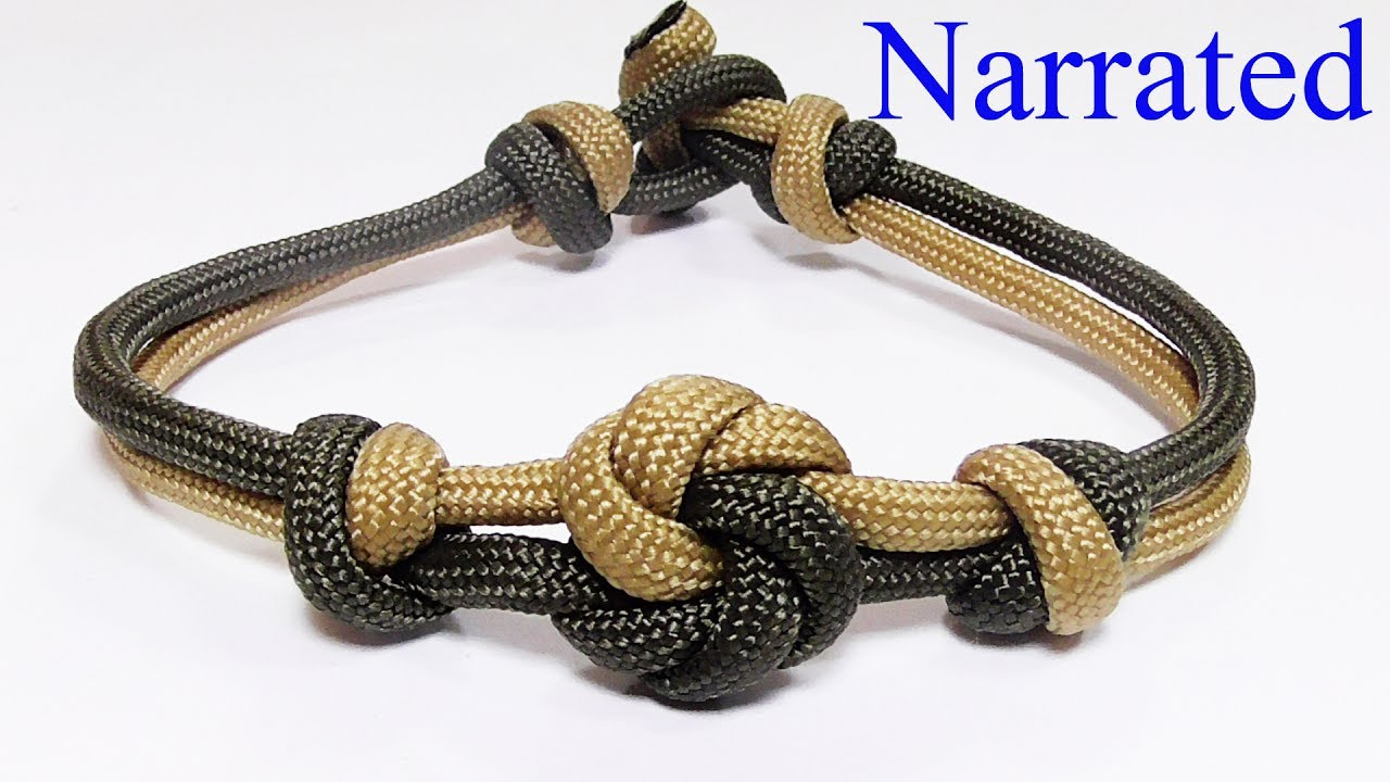 How you can make a mandala knot paracord bracelet youtube for What can you make out of paracord