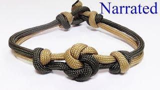 """How You Can Make A Mandala Knot Paracord Bracelet"""