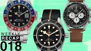 Weekly Recap: Speedy Tuesday, Vintage Rolex, and Gift Watches!