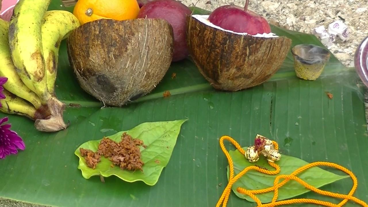 Aadi perukku - thali changing 2017 by poova see
