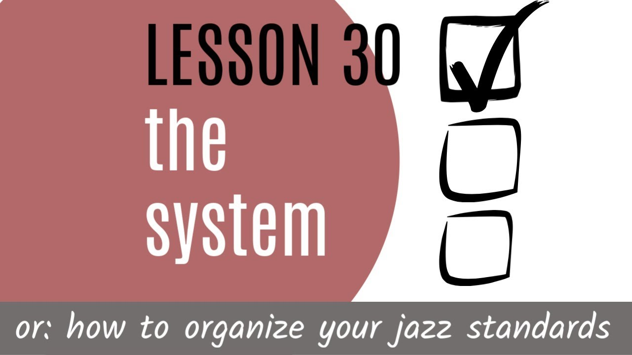 "JAZZ GUITAR LESSONS BERLIN 30: the ""system"" - YouTube"