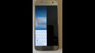 Samsung Galaxy S7 Edge half screen black l S7 Edge Half Screen Glitch l How to FIX ??