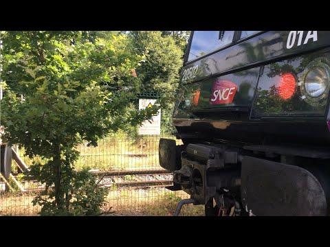De Brétigny à Saint-Martin d'Étampes en cabine de la Z5660