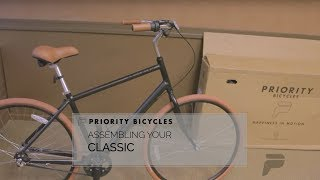 Priority Bicycles - Assembly