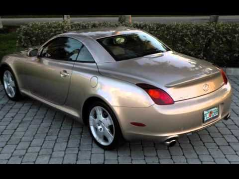 2005 Lexus SC 430 Convertible Ft Myers FL For Sale In FORT MYERS, FL