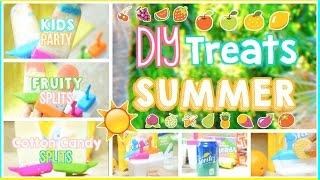 ☼ Diy Easy & Yummy Summer Treats: 3 Popsicle Snack Ideas! | Alohakatiex ☼
