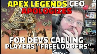 """Respawn CEO Apologies for Apex Legends Devs Calling Players """"Freeloaders"""""""