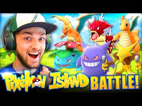 THE 1st TOURNAMENT *LIVE*! - Pixelmon Island #6 w/ Ali-A