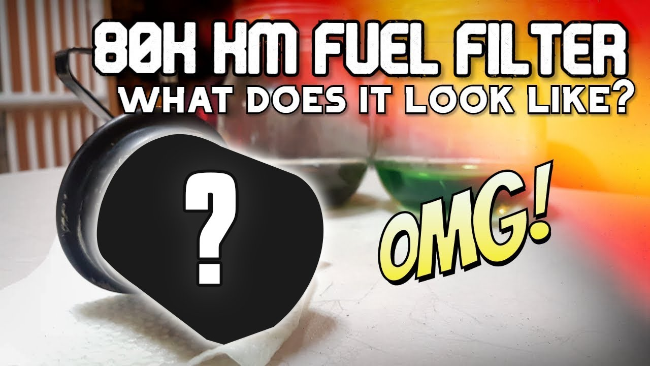 Download OPENING AN 80,000 KM FUEL FILTER!
