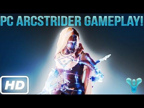 DESTINY 2 ARCSTRIDER GAMEPLAY!! (HD Resolution From Destiny 2!)
