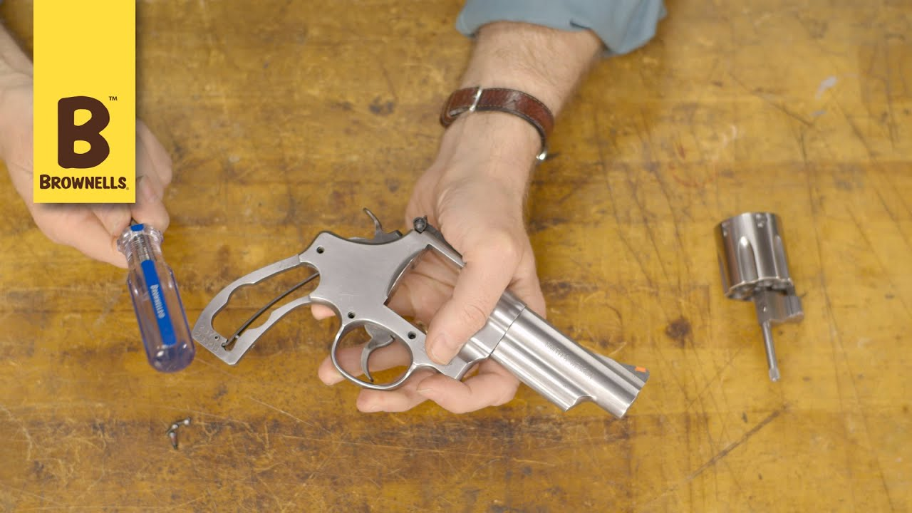 Quick Tip: How To Properly Take A Side Plate Off A Smith And Wesson Revolver