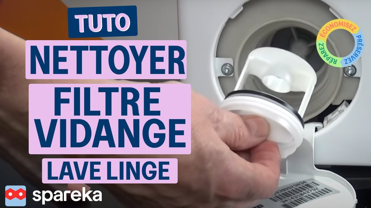 Nettoyer filtre vidange lave linge youtube - Vider machine a laver demenagement ...