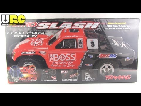 Traxxas Nitro Slash unboxed, first look