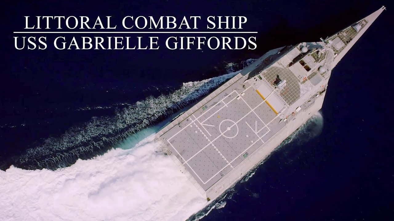 Life Onboard Littoral Combat Ship: US Navy USS Gabrielle Giffords - YouTube