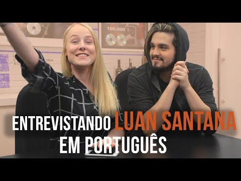 INTERVIEWING LUAN SANTANA IN PORTUGUESE [TRYING] ♡
