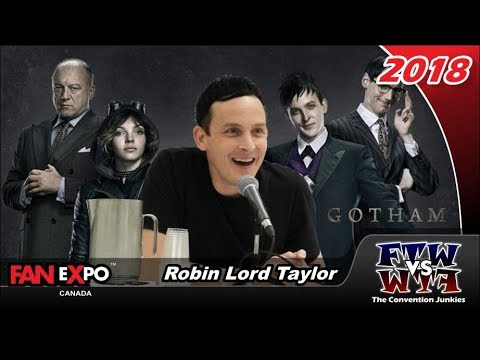 Gotham's Robin Lord Taylor  Expo Canada 2018 Full Panel
