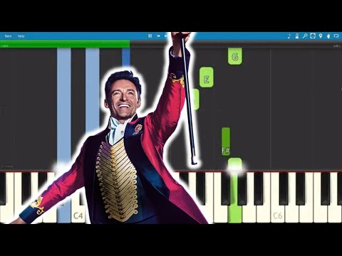This Is Me - The Greatest Showman Soundtrack - Piano Tutorial
