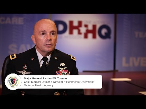 Major General Thomas On Benefits Of The Defense Health Agency