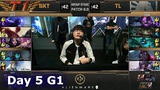 SK Telecom T1 vs Team Liquid   LoL MSI 2019 Group Stage Day 5   SKT vs TL